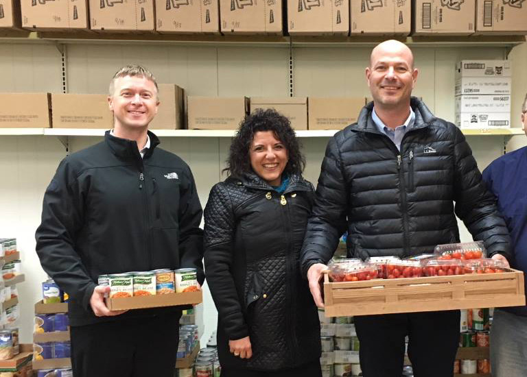 TRICOR gives back to the communities we serve. Helping local food pantries is one of our ways